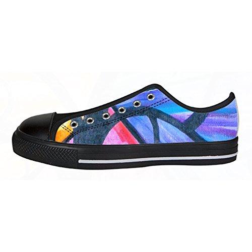 Scarpe Albero Women's Delle Alto Canvas Da Lacci I Custom Shoes Tetto Ginnastica Dipinto Arte RqwnzFgz