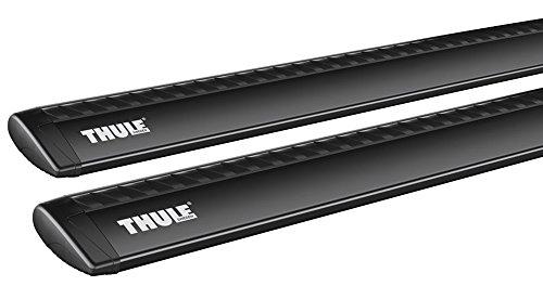 Thule Wing Bar alumimium - black - 135 ()