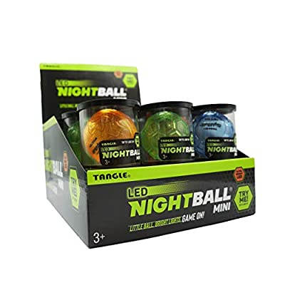 Nightball Tangle Sportz Matrix Mini Collection - Blue, Green, Orange: Toys & Games