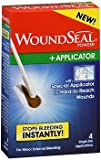 WoundSeal Powder with Applicator -4 single applications, Pack of 4