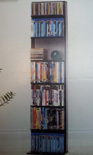 Atlantic Media Tower Elite, Holds 210 Cd or 129 DVD