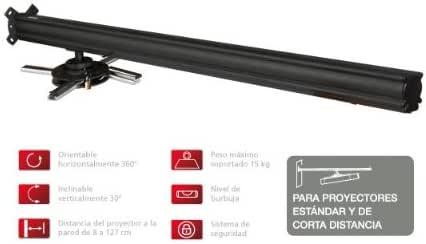 Fonestar SPR-552 Pared Negro Montaje para Projector: Amazon.es ...