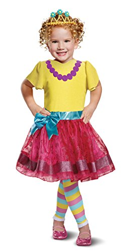 Disguise Nancy Deluxe Toddler Child Costume, Multi Color, Medium/(3T-4T) -