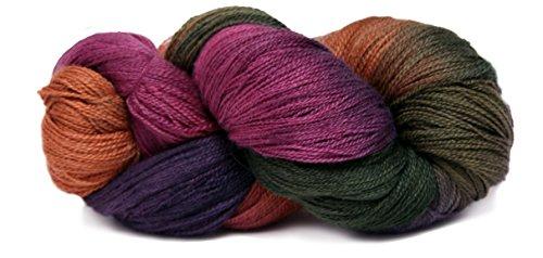 Fiesta Yarns Hand Dyed Gracie's Lace Yarn, (Fiesta Knitting Yarn)