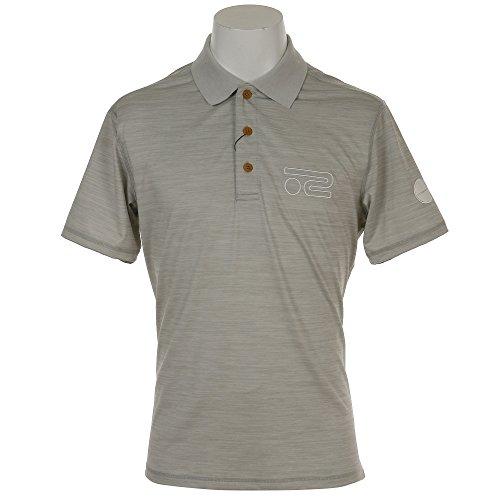 ロサーセン ゴルフウェア ポロシャツ 半袖 クールコアメランジ半袖ポロ 044-27543 13グレー 50(L)