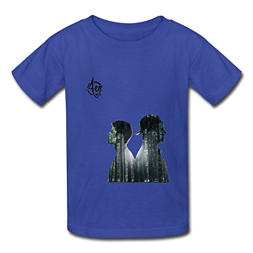 Youth Art 100  Cotton Aer T Shirt Royalblue Us Size L