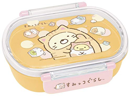 Skater San-X Sumikko Gurashi Light Bento Lunch Box 360ml Warm Day For A Cat QA2BA from Japan