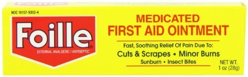 Foille Medicated First-Aid Ointment Tube 1 oz by Foille ()