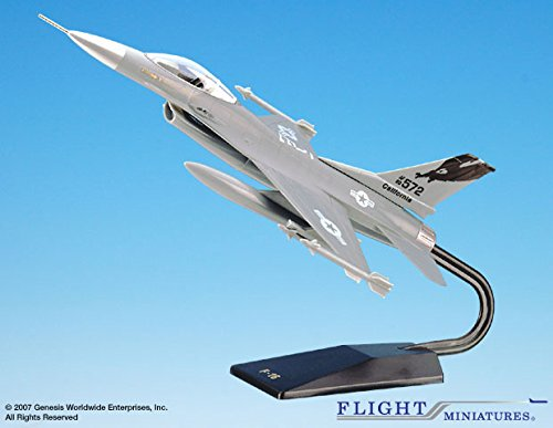 General Dynamics F-16 - Flight Miniatures California Air National Guard AGD-00160A-001 General Dynamics F-16 1:48 Scale
