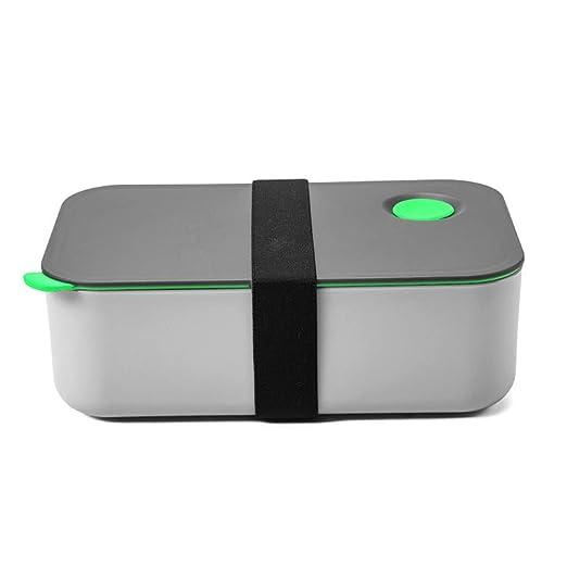 Vaugan Bento Fiambrera, 1200ml Bento Caja con 2 Flexible ...