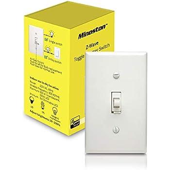 Zooz Z Wave Plus Wall Dimmer Switch Zen22 White Ver 3 0