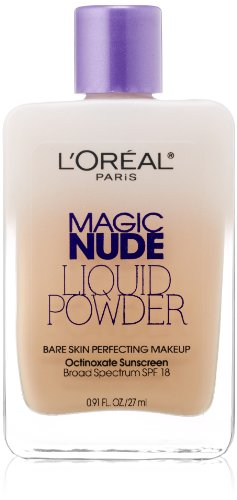 LOreal-Paris-Magic-Nude-Liquid-Powder-Bare-Skin-Perfecting-Makeup-SPF-18-Light-Ivory-091-Ounces