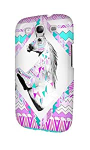 S30623 beautiful Unicorn Glossy Case Cover For Galaxy S3 by mcsharks