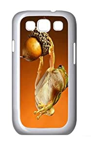 Samsung Galaxy S3 Case and Cover- Scrat The Frog Custom PC Case for Samsung Galaxy S3 / SIII / I9300 White