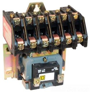 SCHNEIDER ELECTRIC 8903LO60V02 Lighting Contactor 600-Vac...