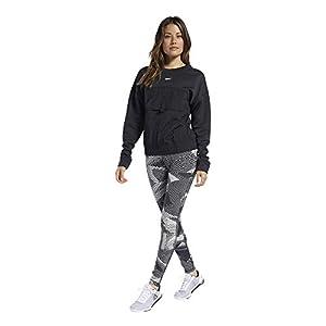 Reebok Women's Ts Midlayer Crew Sweatshirt