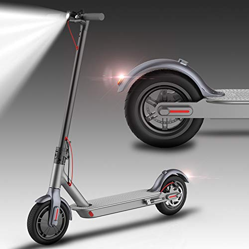 Electric Scooter For Adults,8.5 Inch Foldable E-Scooter,25.7 km Long Range,350W High Motor,Up To 22.5km/h,Portable Lightweight Double Security Electric Kick Scooters Commuting (US With Warranty)