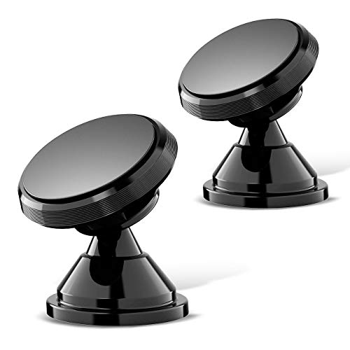 - Magnetic Phone Car Mount, eSamcore Powerful Magnets Car Mount Holder for Dashboard with Strong Adhesive, Fits All iPhone Samsung Galaxy Smartphone [2 Pack]