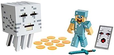 Mattel Minecraft Steve with Ghast Figure