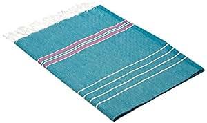 Cacala Multi-PES-Paradise-Aqua Paradise Turkish Bath Towels, 100% Cotton
