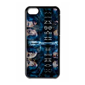 Game of Thrones iPhone 5c Cell Phone Case Black Delicate gift AVS_584351