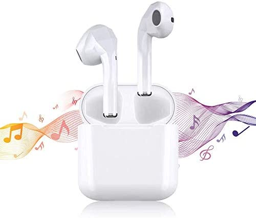 Wireless Earbuds Bluetooth 5.0 Headphones Fast Charging [24H Playing time] Active Noise Cancelling in Ear Ear Buds Touch Control Stereo Compatible with iPhone Airpods Android