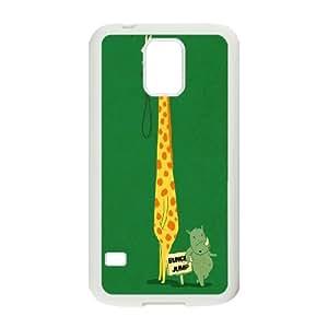 Cute animal giraffe Case Cover Best For Samsung Galaxy S5 FKLB-T525556