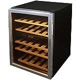 Soleus WKD5 Dual-Zone Wine Cooler, Black