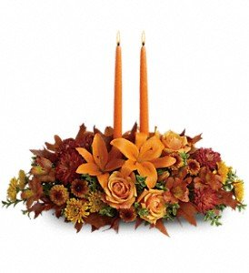 Family Gathering Centerpiece by Harry's Famous Flowers
