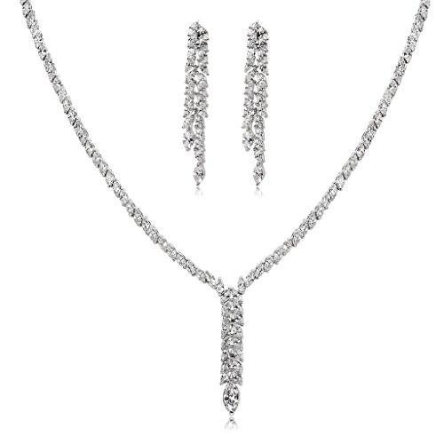 Epinki Silver Plated Jewelry Set, Ear of ()