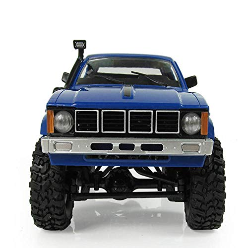 Muzili- Rock Crawler Remote Car 1/16 RC car Electric Off-Road Pickup Truck Compartment Truck 2.4G 4 Wheel Drive Crawler Climbing car Model Modified Children's Toy ()