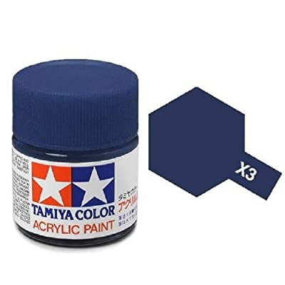 Tamiya Models X-3 Acrylic Paint, Royal Blue: Toys & Games