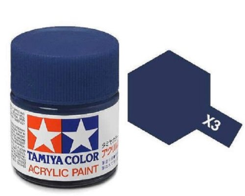 Tamiya Models X-3 Acrylic Paint, Royal Blue