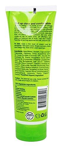 Alba Botanica Moisturizing Cream Shave Coconut Lime -- 8 fl oz