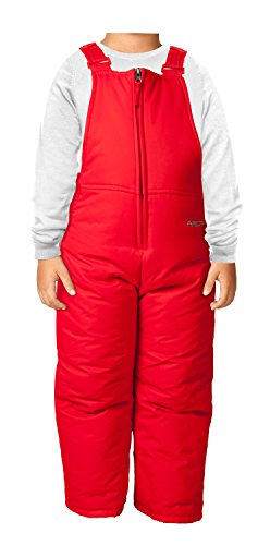 Arctix Infant/Toddler Insulated Snow Bib Overalls,Formula One Red,2T