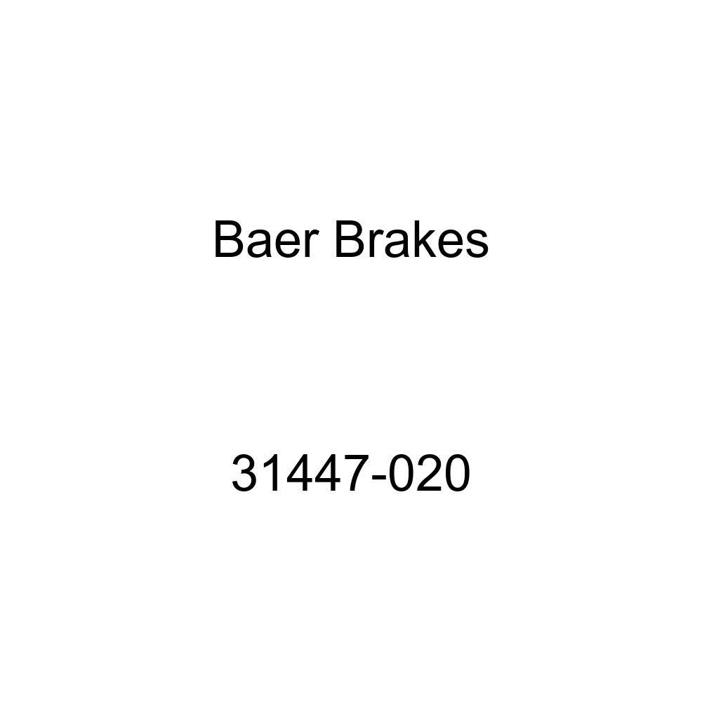 Pair Baeer Brakes 31447-020 Sport Brake Rotor BAER Rear