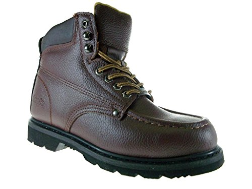 Heavy Resistant Oil Leather Sole Work Mens 616 Safty Boots Brown Eagle Dark Duty Full xqzvFFIw