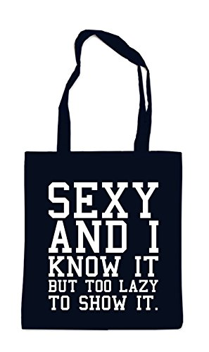 Sexy And I Know It Bag Black