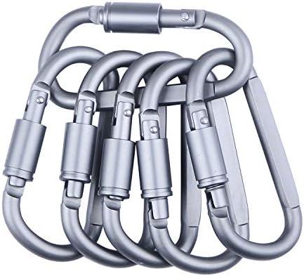 OPII - Mosquetón de Aluminio con Anilla en D (6 Unidades ...
