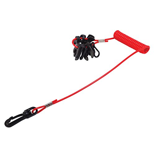 Sea-Dog 3004.6387 420496-1 Kill Switch 10 Key Universal Lanyard