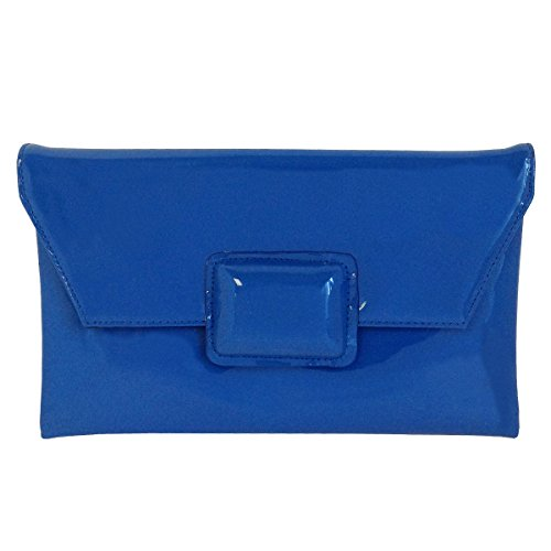 jnb-womens-faux-patent-leather-clutch-royal-blue