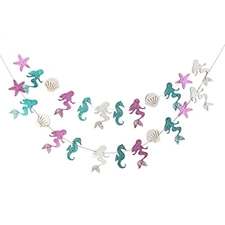 410Ey4gPerL._SS450_ Beachy Starfish and Seashell Garlands
