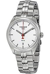 Tissot PR 100 NBA Silver Dial Stainless Steel Auto Men's Watch T1014101103101