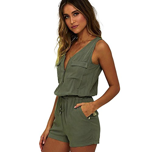 taore-womens-sexy-drawstring-jumpsuits-rompers-short-pants-bodysuit-top-l-green