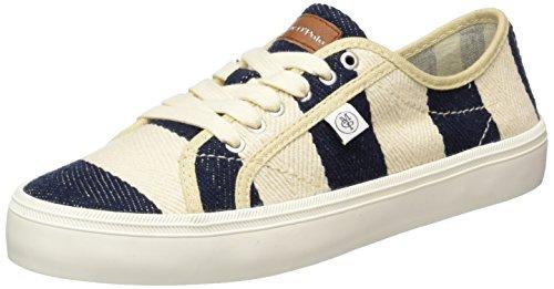 Marc O'Polo 70213923501612 Sneaker - Zapatillas Mujer Mehrfarbig (navy/cream)