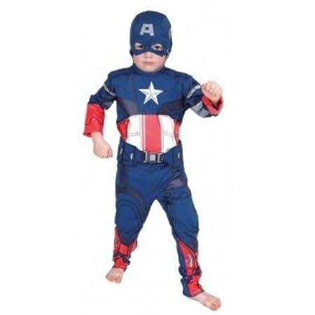 Rubies The Avengers I-881314S - Disfraz de Capitán América (Talla ...