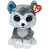 a4dbc98c178 Amazon.com  Ty Beanie Boos Slush the Husky - (Solid eye color) (6 ...