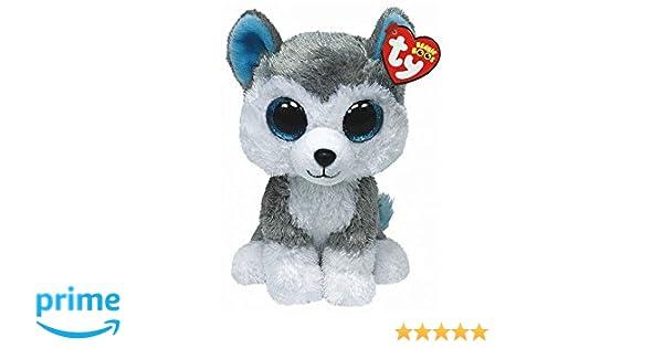 Alaska Stuffed Animals, 15cm Ty Beanie Boo S Collection 6 Buff The Husky Plush Soft Toy