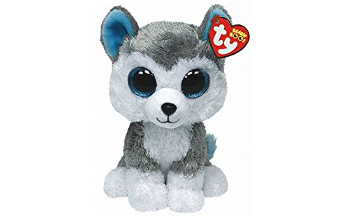 Ty Beanie Boos 6  Slush The Husky Dog  Perfect Plush