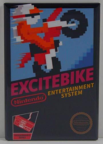 Excitebike Game Box Refrigerator Magnet.
